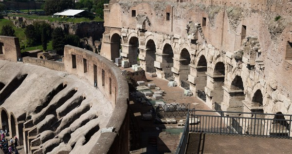 Reopen to the public of the 4th and 5th floors of the Colosseum
