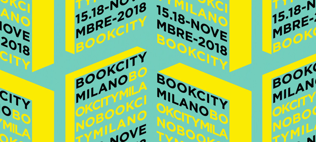 Bookcity Milano 2018 is nearly here and books will become a key focus