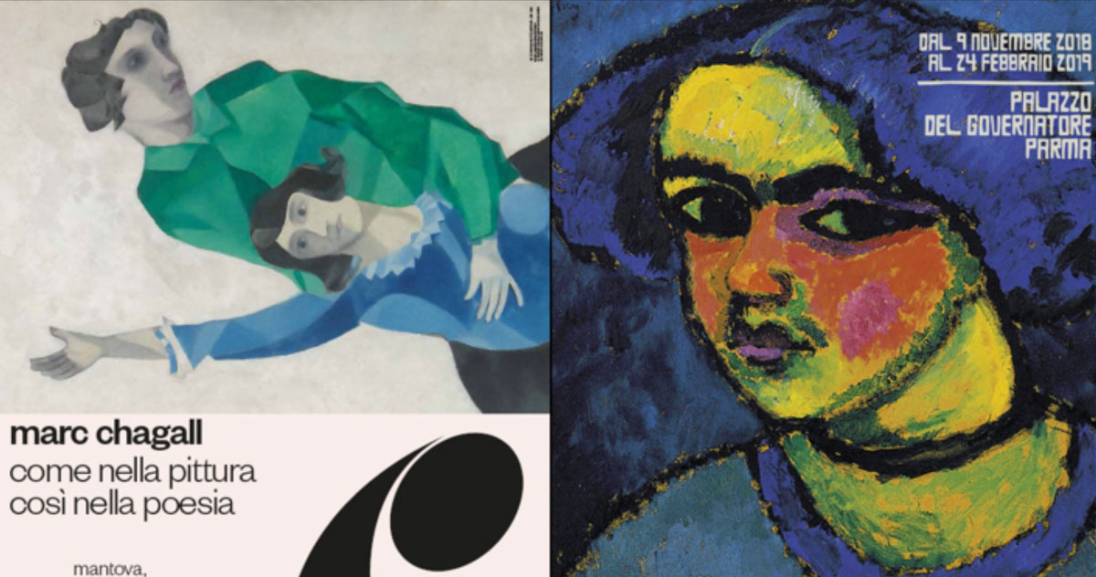Chagall in Mantua and the Avant-Gardes in Parma: discounted tickets to visit both exhibitions