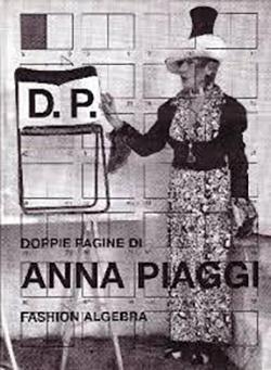 D.P. Doppie pagine di Anna Piaggi in Vogue