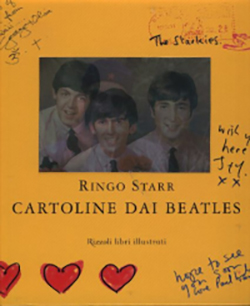 Cartoline dai Beatles
