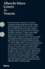 Durer. Lettere da Venezia