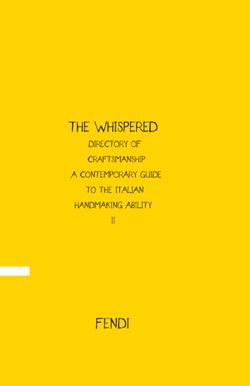The Whispered II