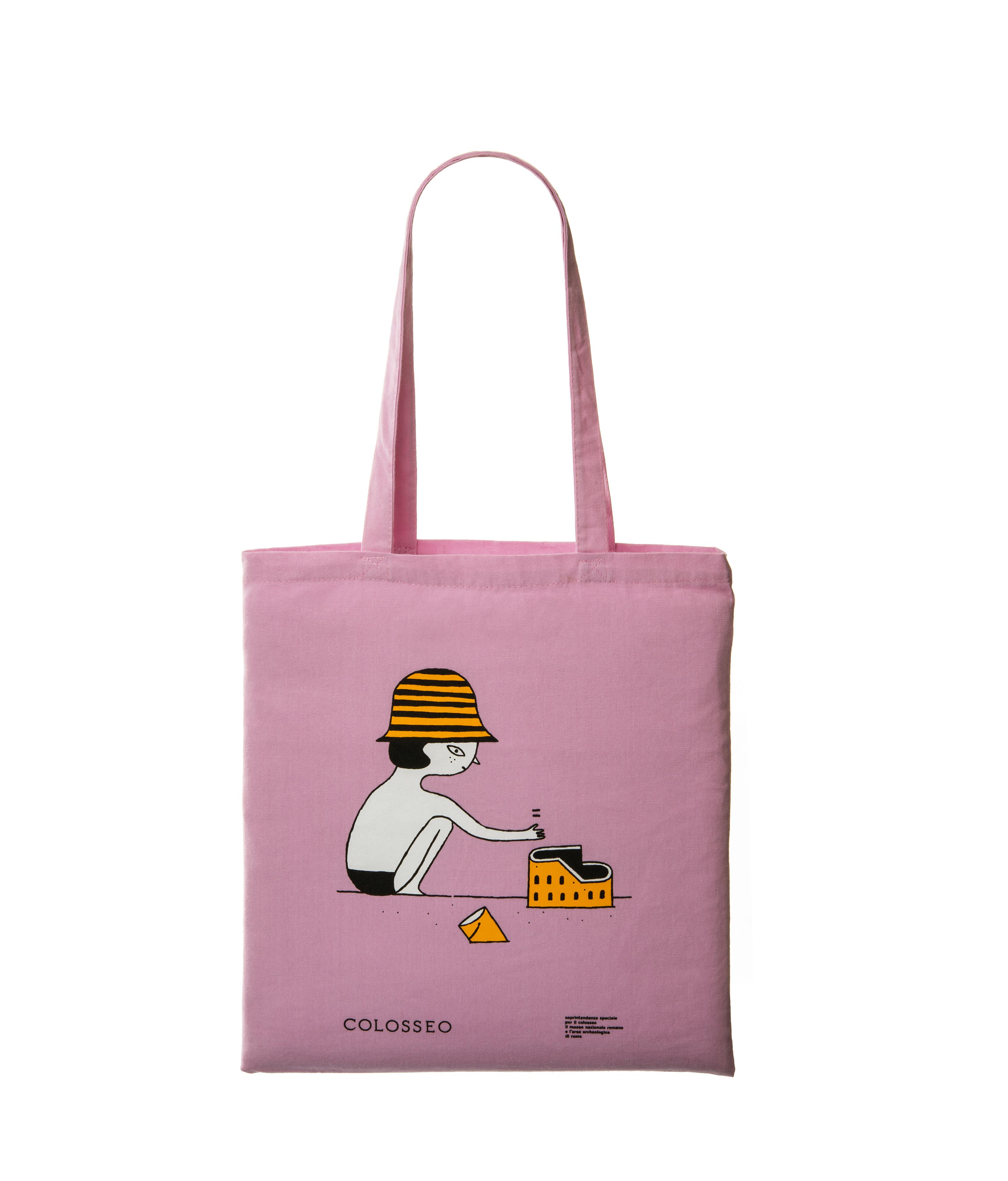 Sea pink shopper