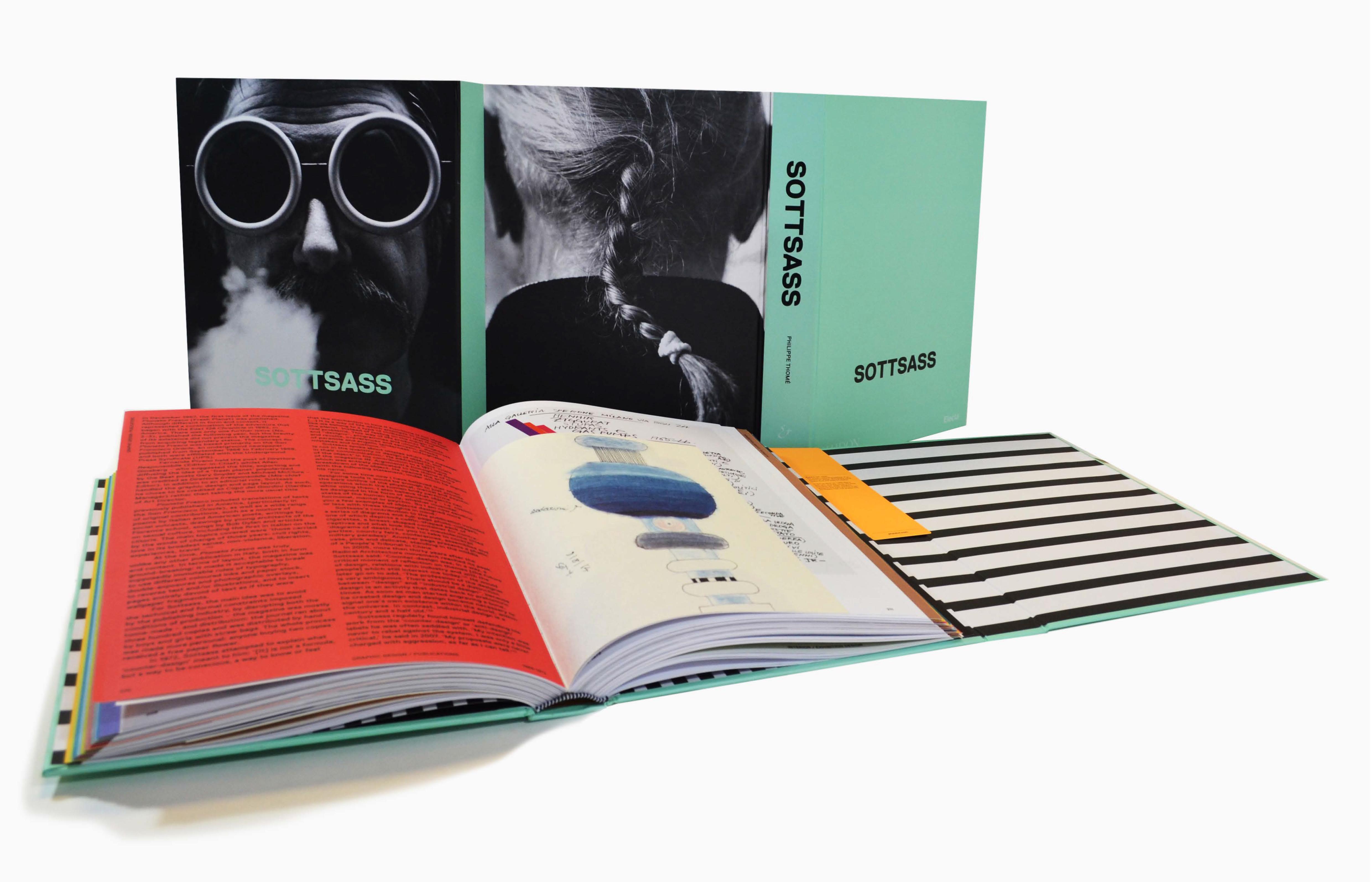 La monografia su Ettore Sottsass a marchio Electa
