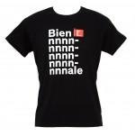 "t-shirt uomo M nero linea ""Biennnnnale"" serie la Biennale di Venezia"