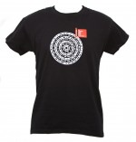 "t-shirt uomo M nero linea ""Mandala"" serie la Biennale di Venezia"