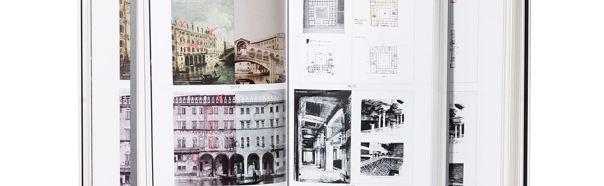 The book <em>Il Fondaco dei Tedeschi, Venezia, OMA,</em><br>is among the 50 loveliest books of 2016