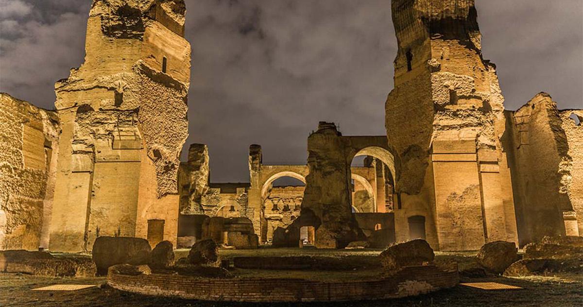 Caracalla: sogno di una notte di fine estate