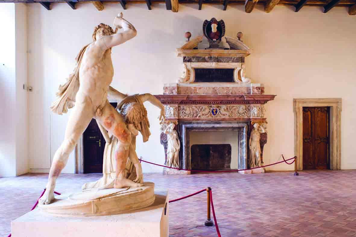 Palazzo Altemps, Dettaglio di una sala, ©Museo Nazionale Romano