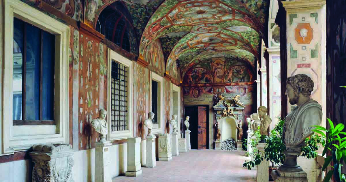 Palazzo Altemps, Loggia dipinta, ©Museo Nazionale Romano