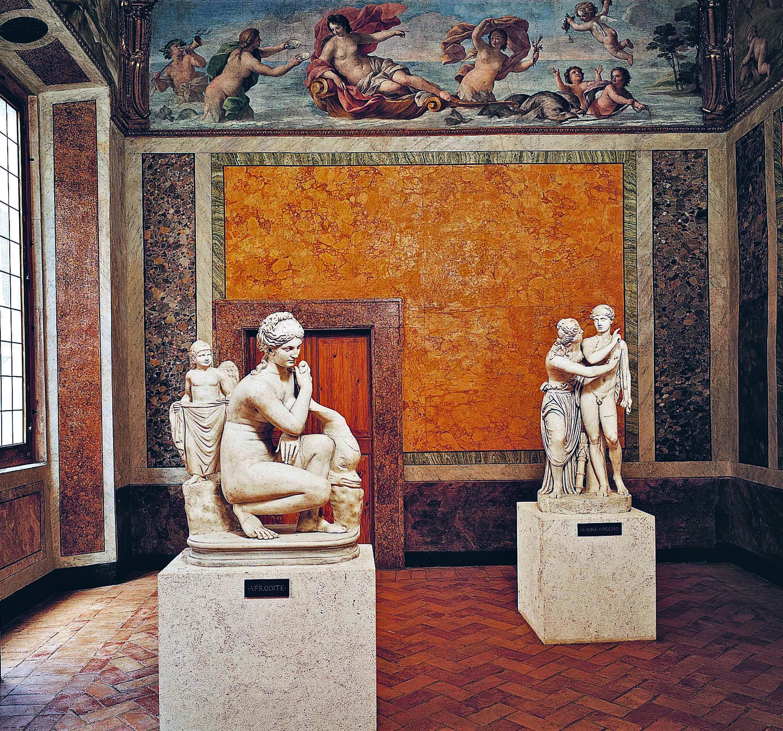 Palazzo Altemps, a room, ©Museo Nazionale Romano