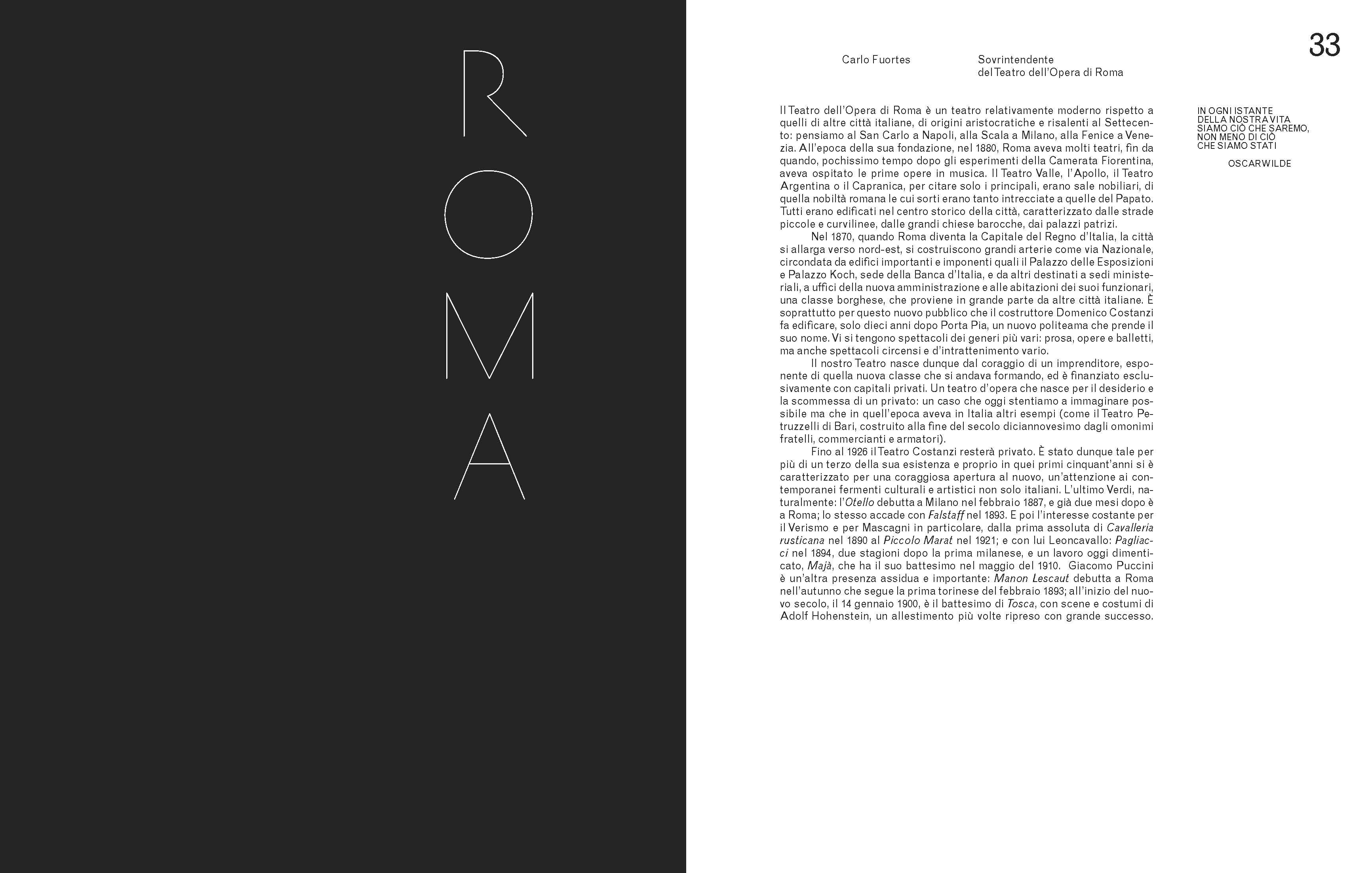 Il Teatro dell'Opera di Roma