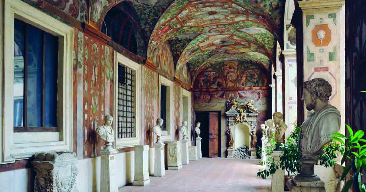 Palazzo Altemps, frescoed loggia, ©Museo Nazionale Romano
