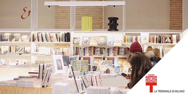 Il bookshop della Triennale di Milano
