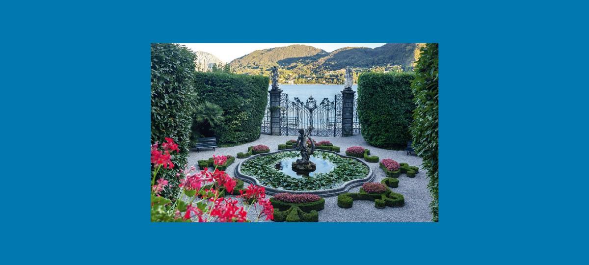I giardini del lago di Como