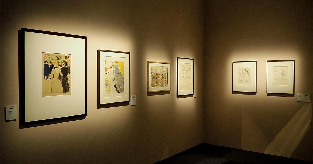 Il mondo fuggevole di Toulouse-Lautrec, works on display, © Stefano Bonomelli