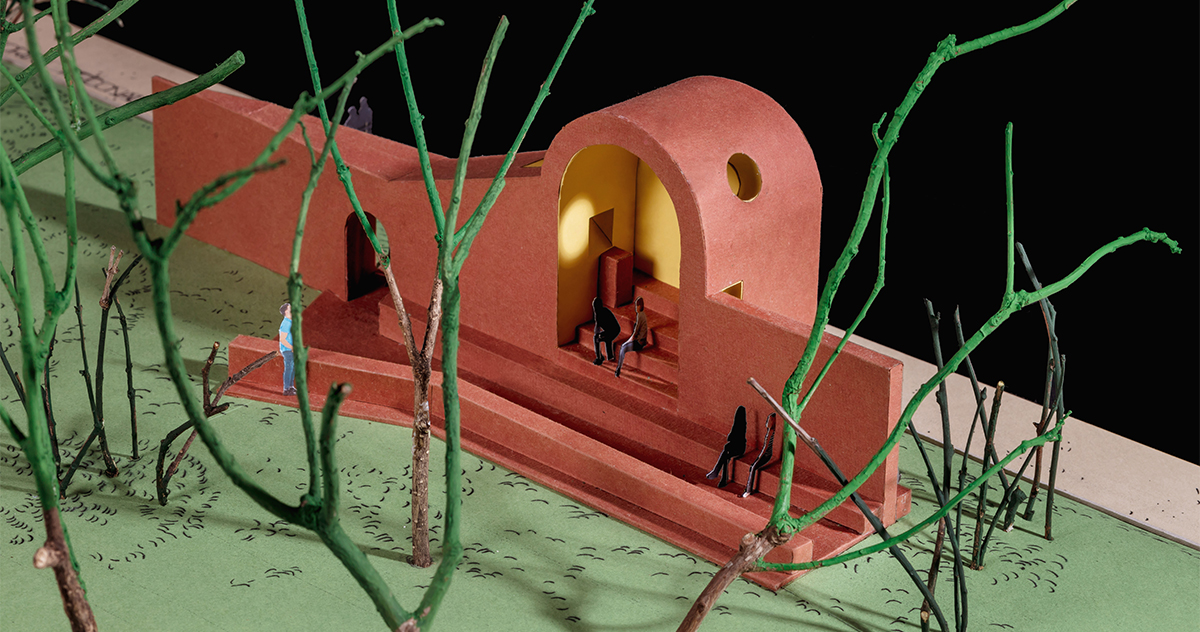 Cappella di Eva Prats e Ricardo Flores, modello di studio