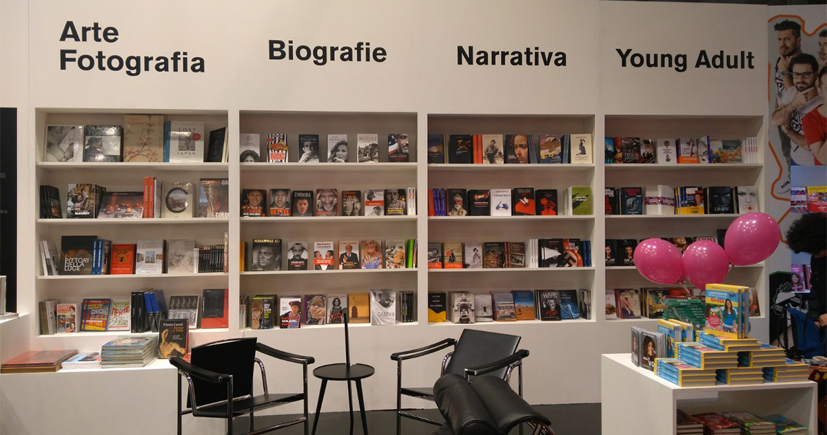 The Mondadori Electa stand at Tempo di Libri