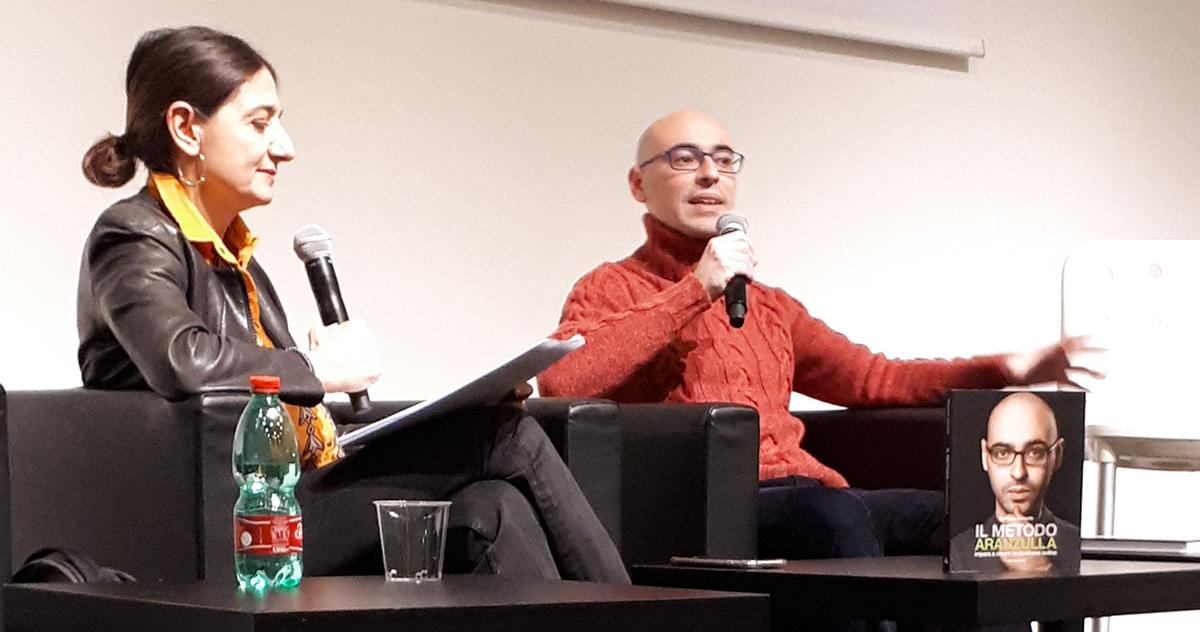 Salvatore Aranzulla with Mondadori Electa at Tempo di Libri