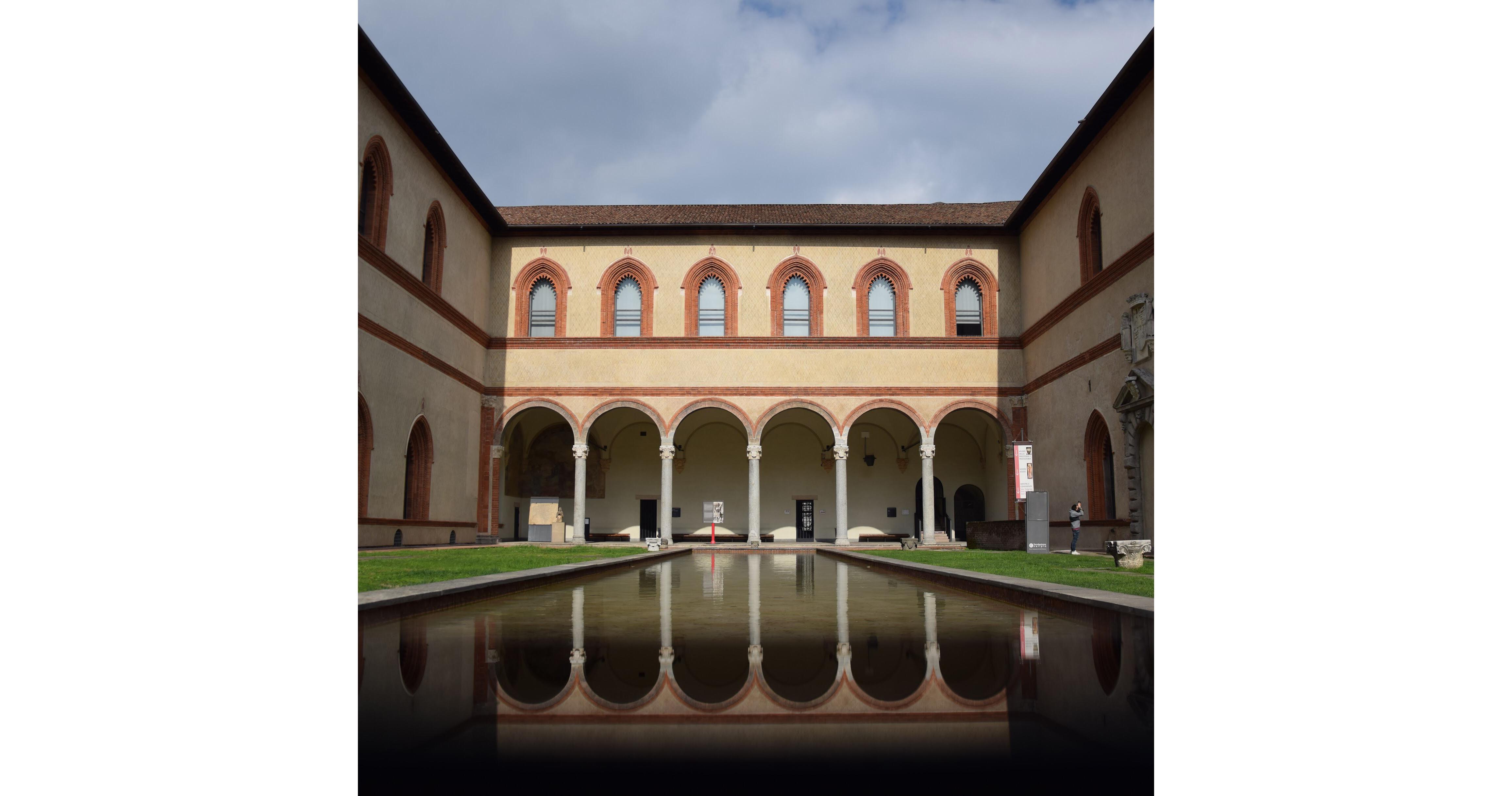 Alcuni scatti selezionati dalla redazione di @castellosforzesco