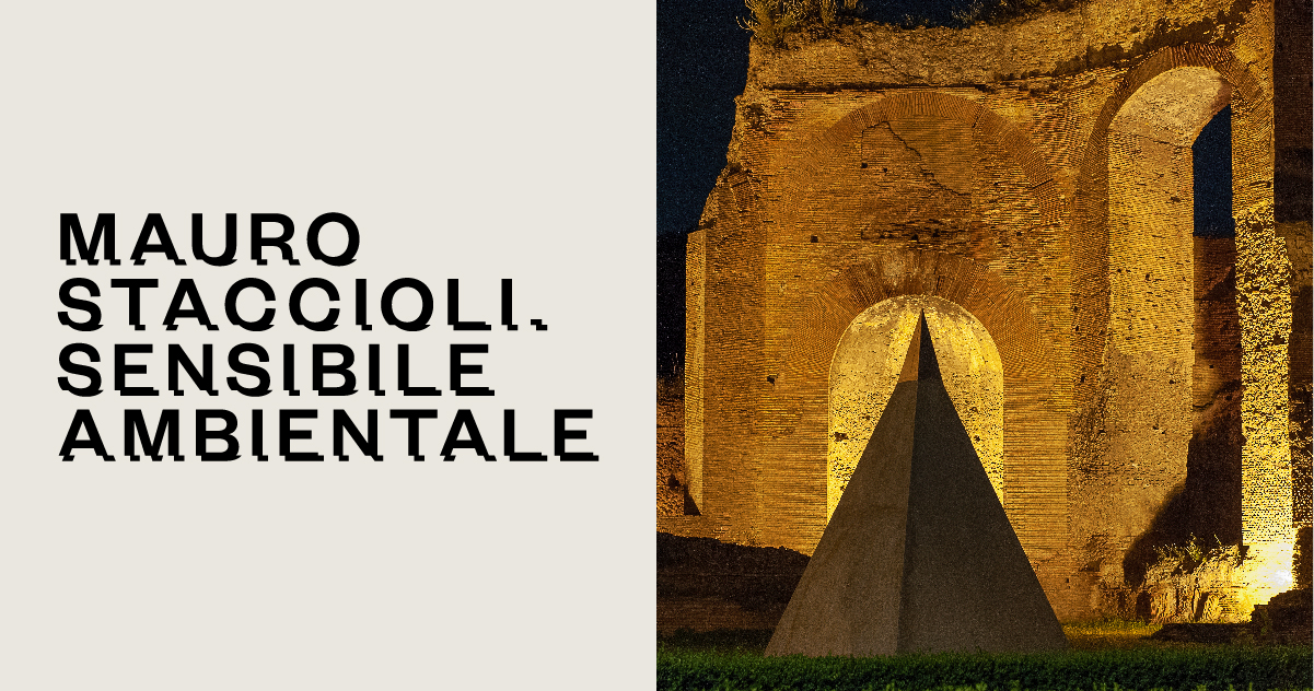 Mauro Staccioli. Sensibile ambientale