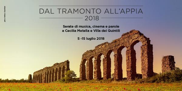 Cinema, musica e danza: Dal Tramonto all'Appia 2018