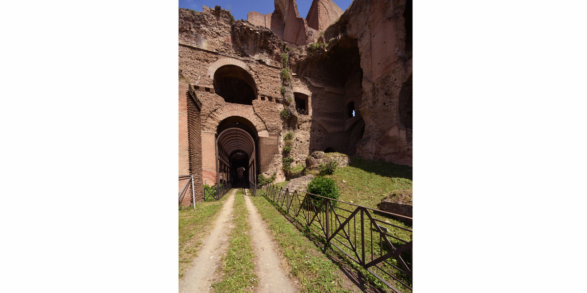 Roma, Colle Palatino, Arcate severiane. ©Parco archeologico Colosseo_ph B.Angeli