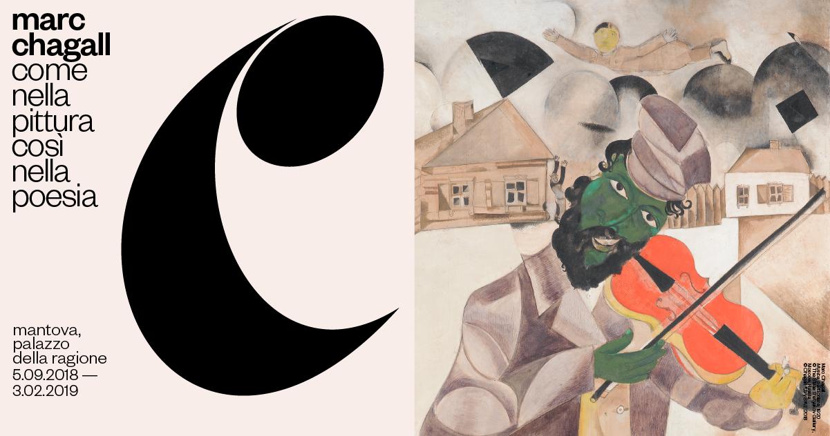 Marc Chagall<br>come nella pittura, così nella poesia