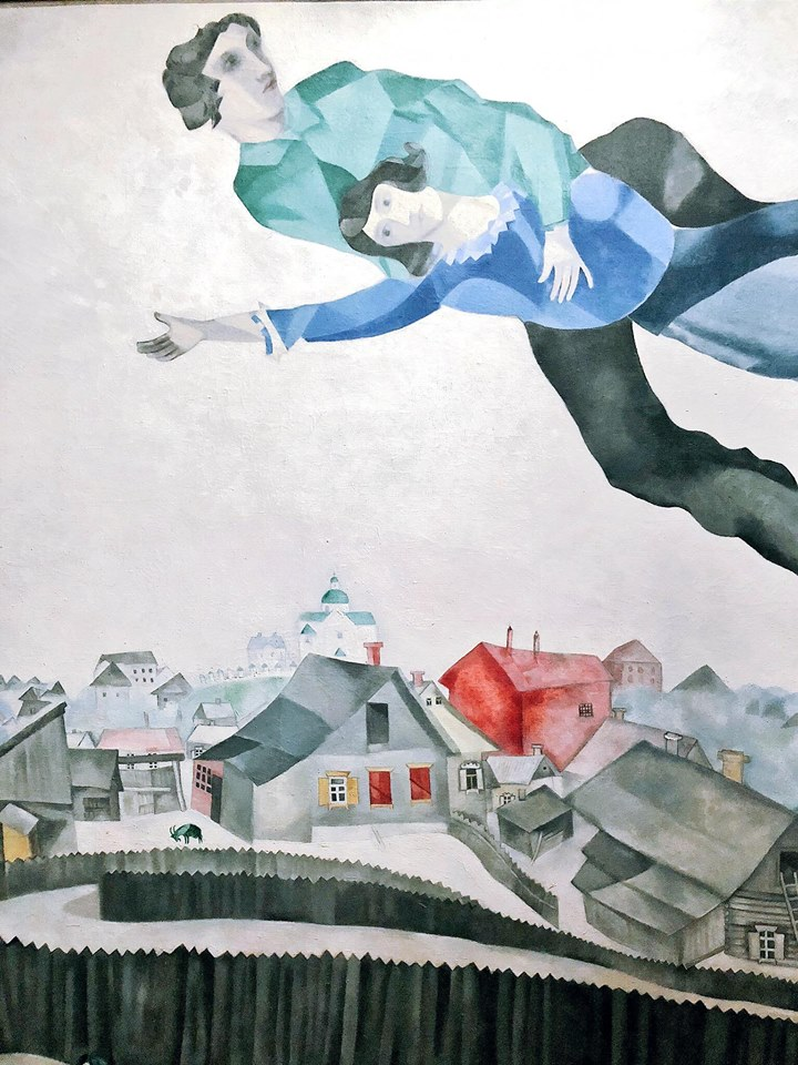 Marc Chagall. Come nella pittura così nella poesia   Foto dal catalogo