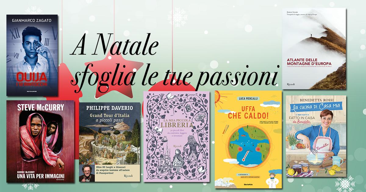 Sfoglia la passione, a Natale regala un libro!