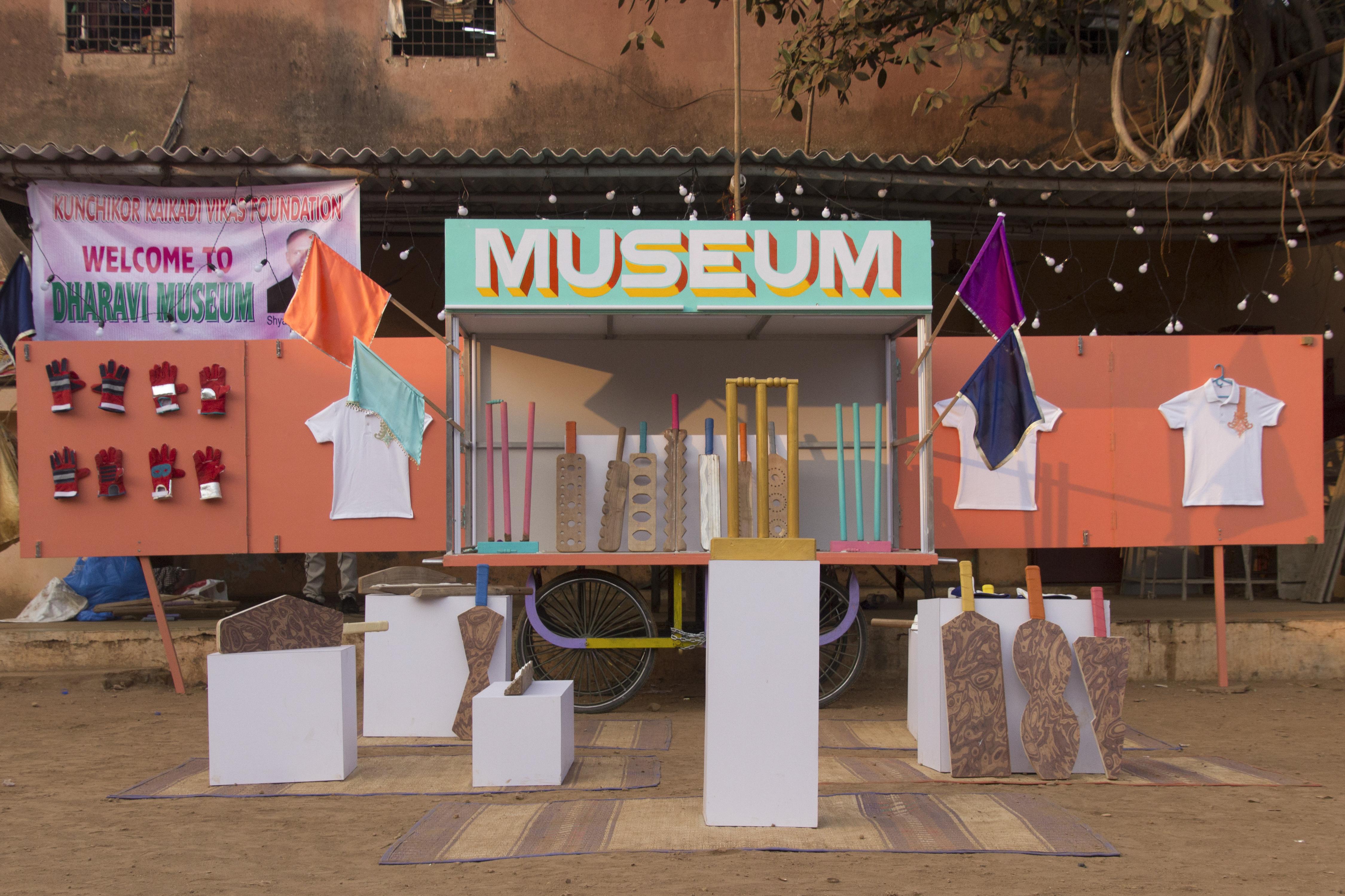 Jorge Mañes Rubio and Amanda Pinatih, Design Museum Dharavi. 2016.  Photo: Courtesy the designers.
