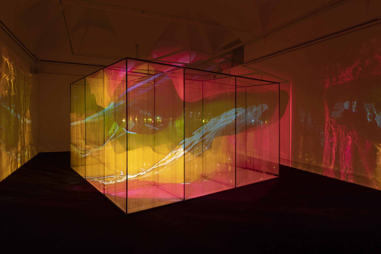 Marinella Pirelli, Film Ambiente, Allestimento al Museo del Novecento, Milano, 2019. Foto di Lorenzo Palmieri.