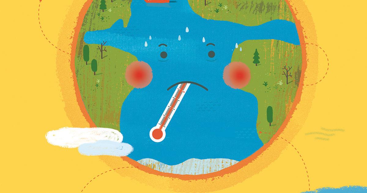 Uffa che caldo! E i bambini imparano a salvare il pianeta