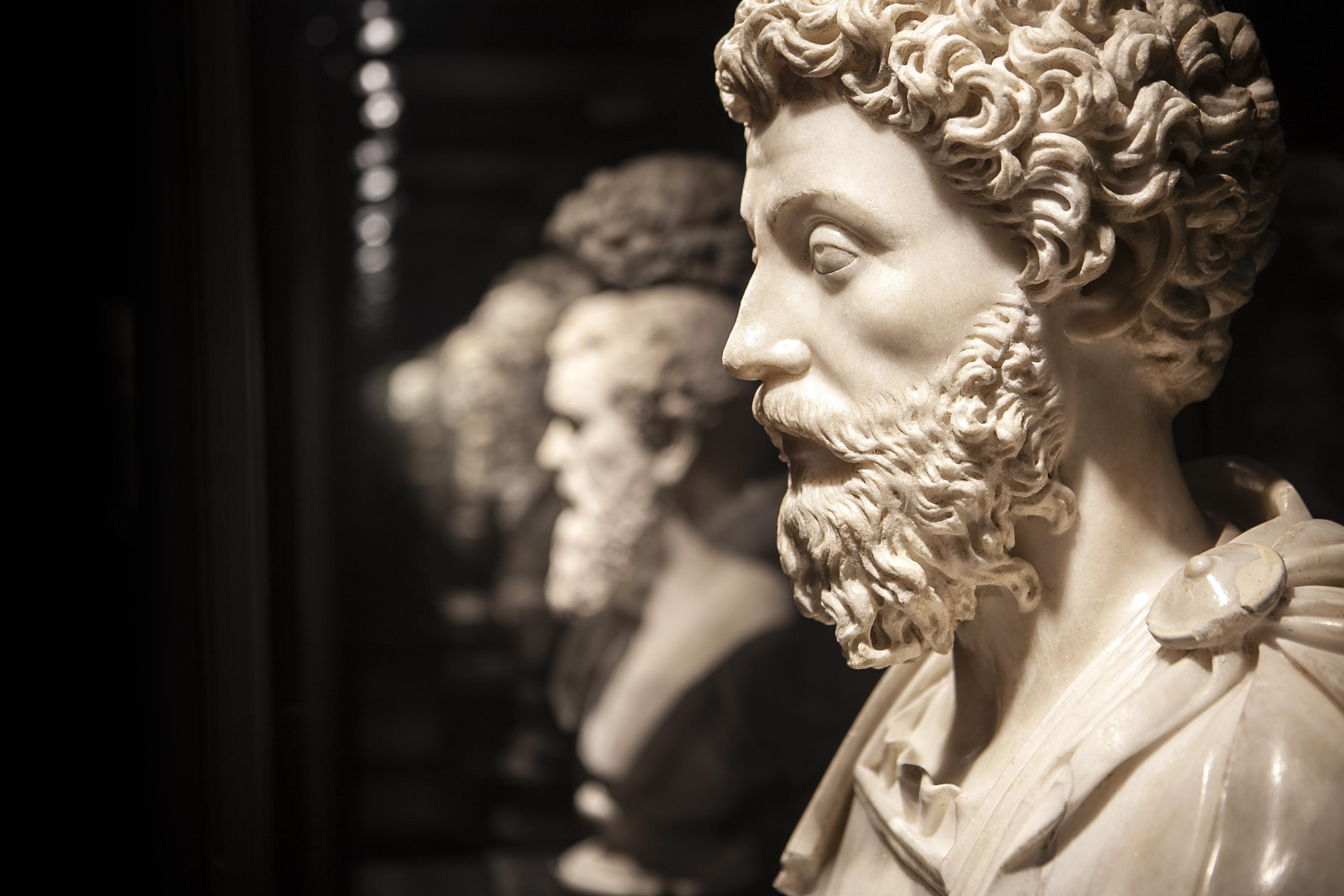 Dalla mostra <i>Roma Universalis</i> al Colosseo (ph C.Pescatori)