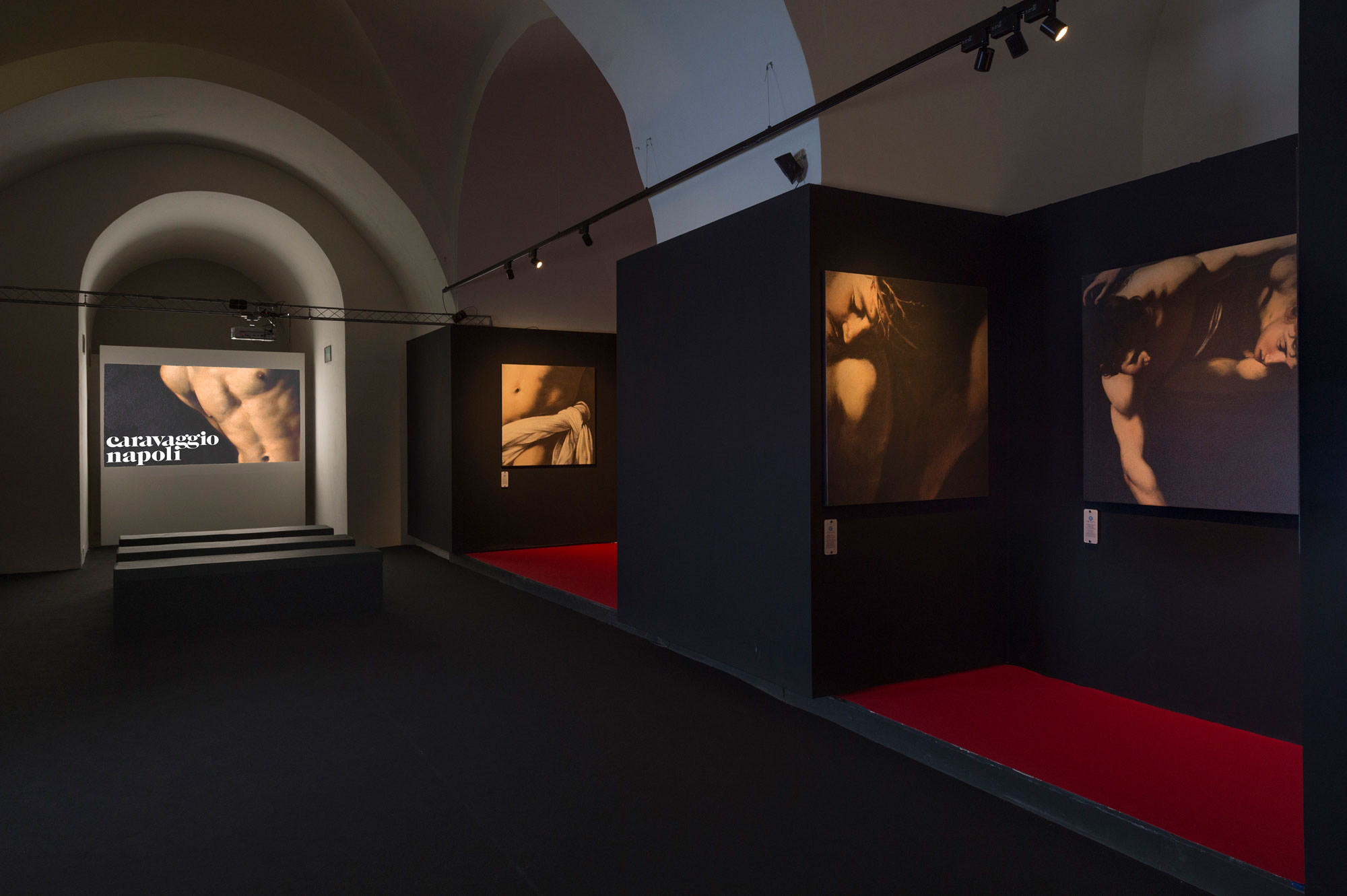 <i>Caravaggio Napoli</i> ph Francesco Squeglia