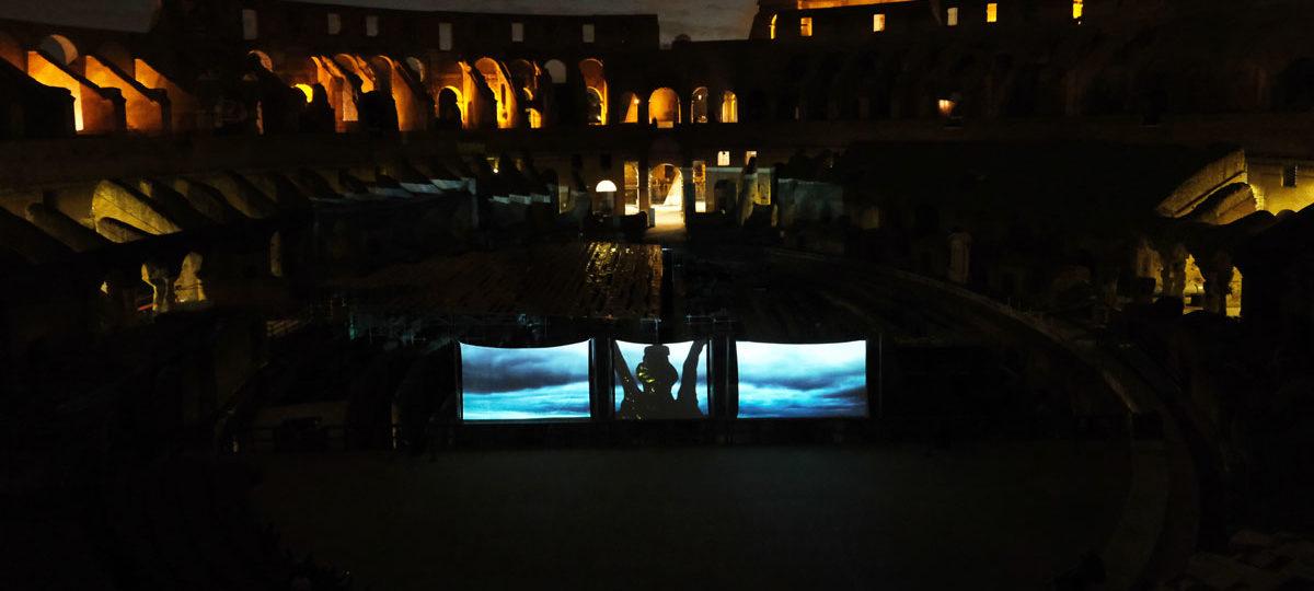 La luna sul Colosseo <BR>Il sogno del gladiatore
