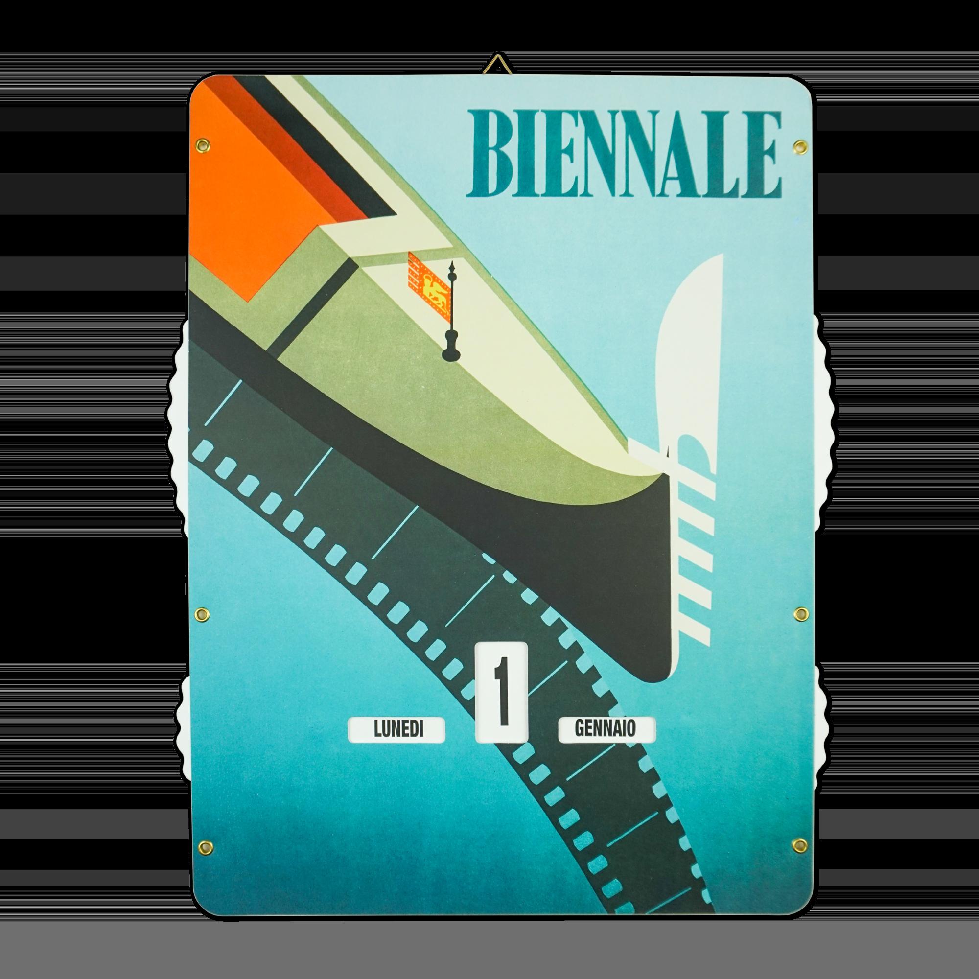 """calendario perpetuo """"Vintage"""" serie La Biennale di Venezia, XV. Mostra Internazionale d'Arte Cinematografica 1954"""