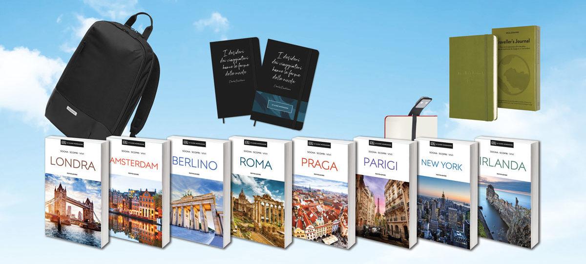 Acquista una Guida Mondadori e vinci fantastici premi Moleskine!
