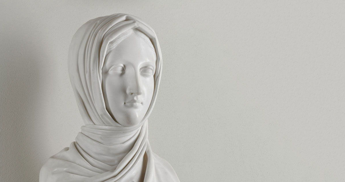 Antonio Canova, <i>Vestale</i>, 1818-1819, Milano, Galleria d'Arte Moderna