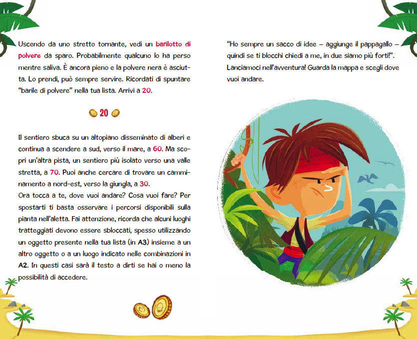 Escape Book. L'isola misteriosa
