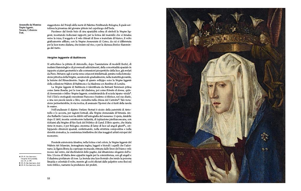Antonello dipinge Maria