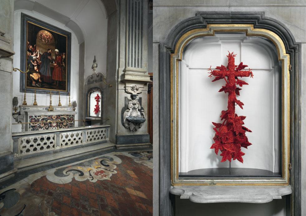 Jan Fabre nella Cappella del Pio Monte della Misericordia a Napoli