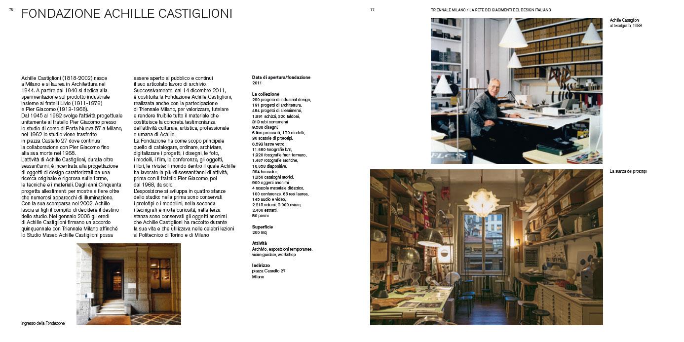Triennale Milano. La rete dei giacimenti del Design Italiano