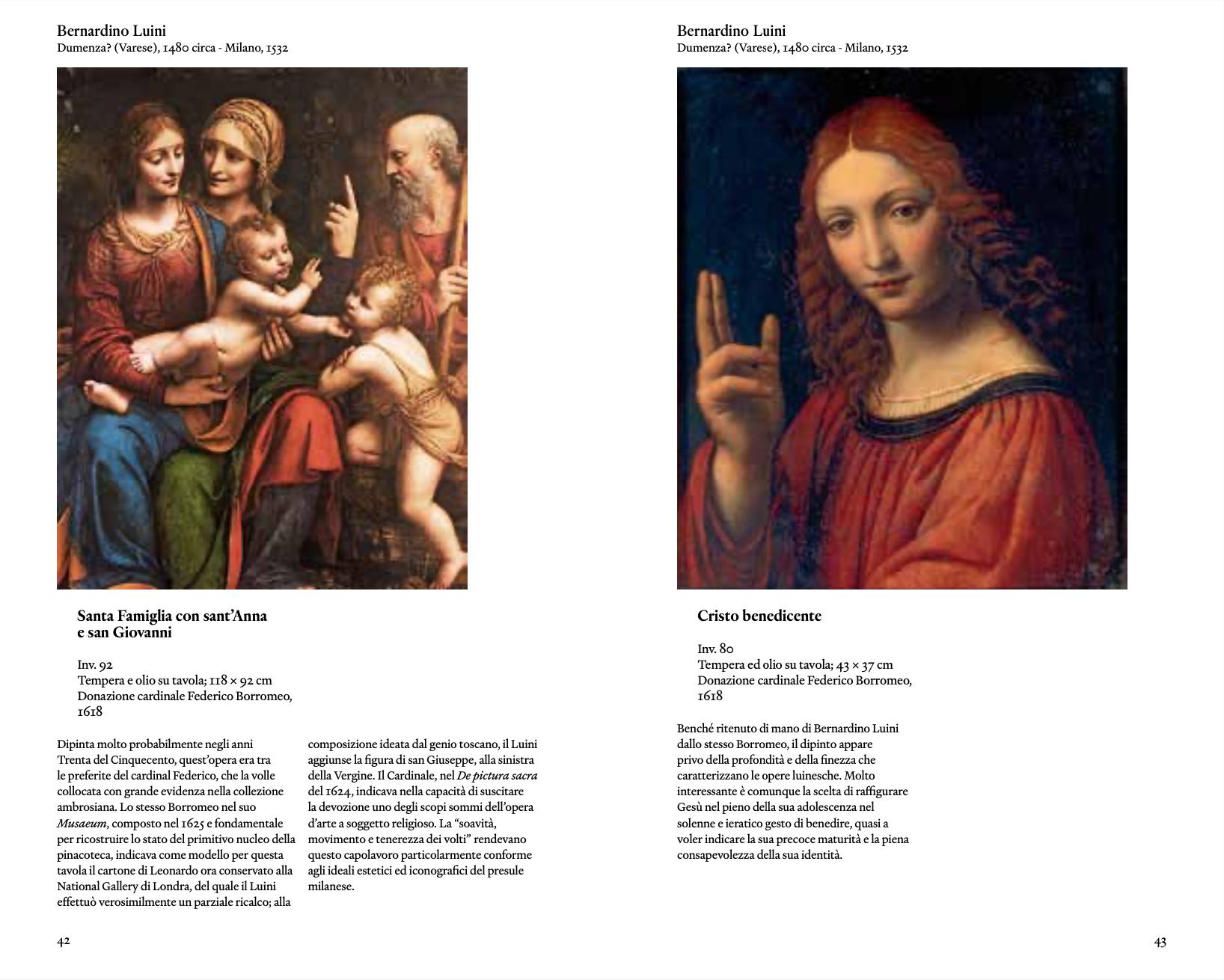 La guida della Pinacoteca Ambrosiana