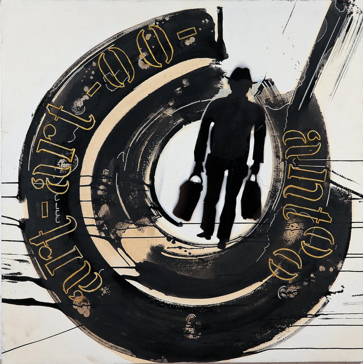 Senza Titolo (serie Artaud), 1991