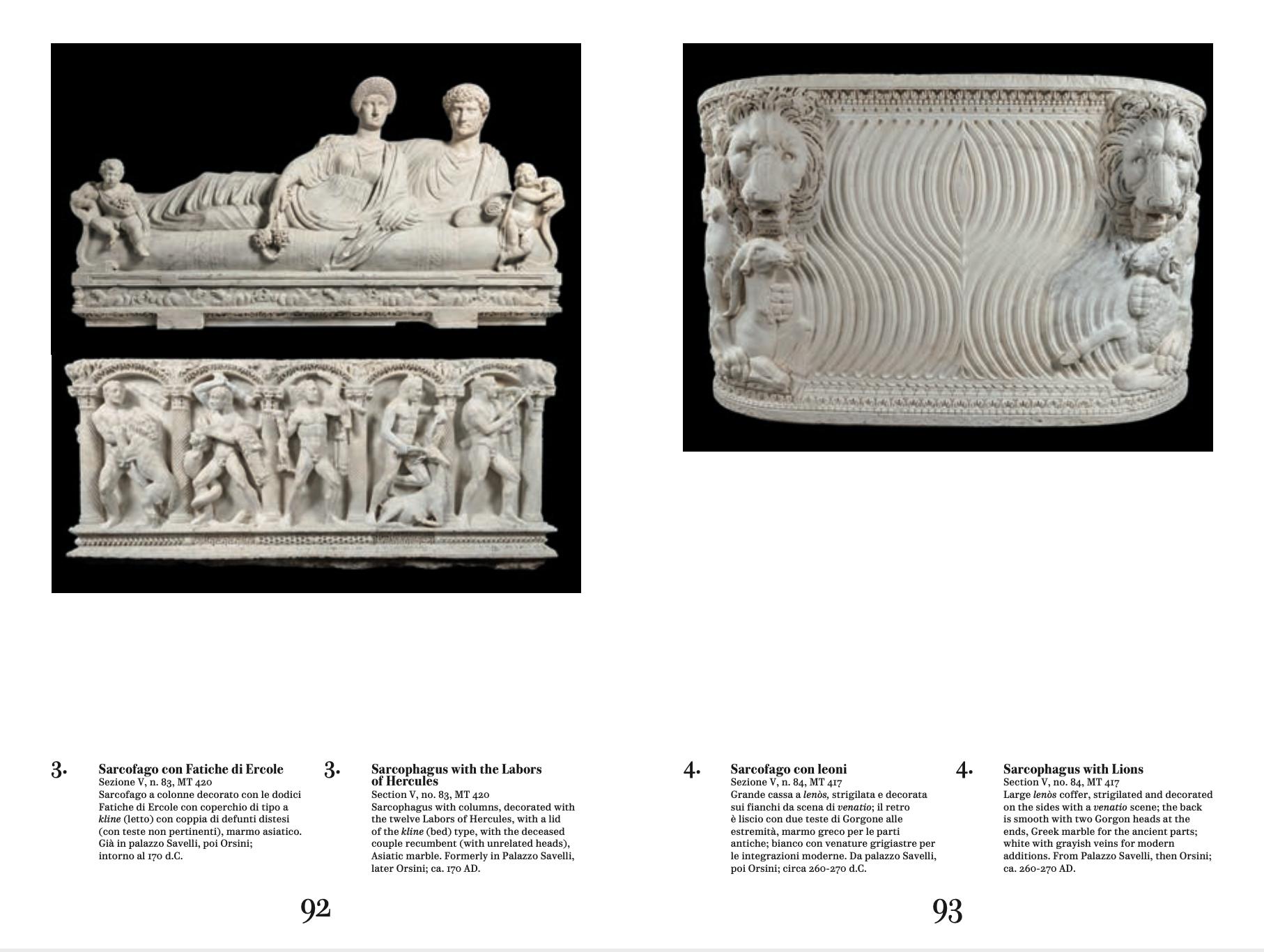 I marmi Torlonia. Collezionare capolavori / The Torlonia Marbles. Collecting Masterpieces