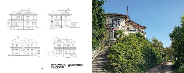 Villa Frascoli. Piero Portaluppi a Laveno