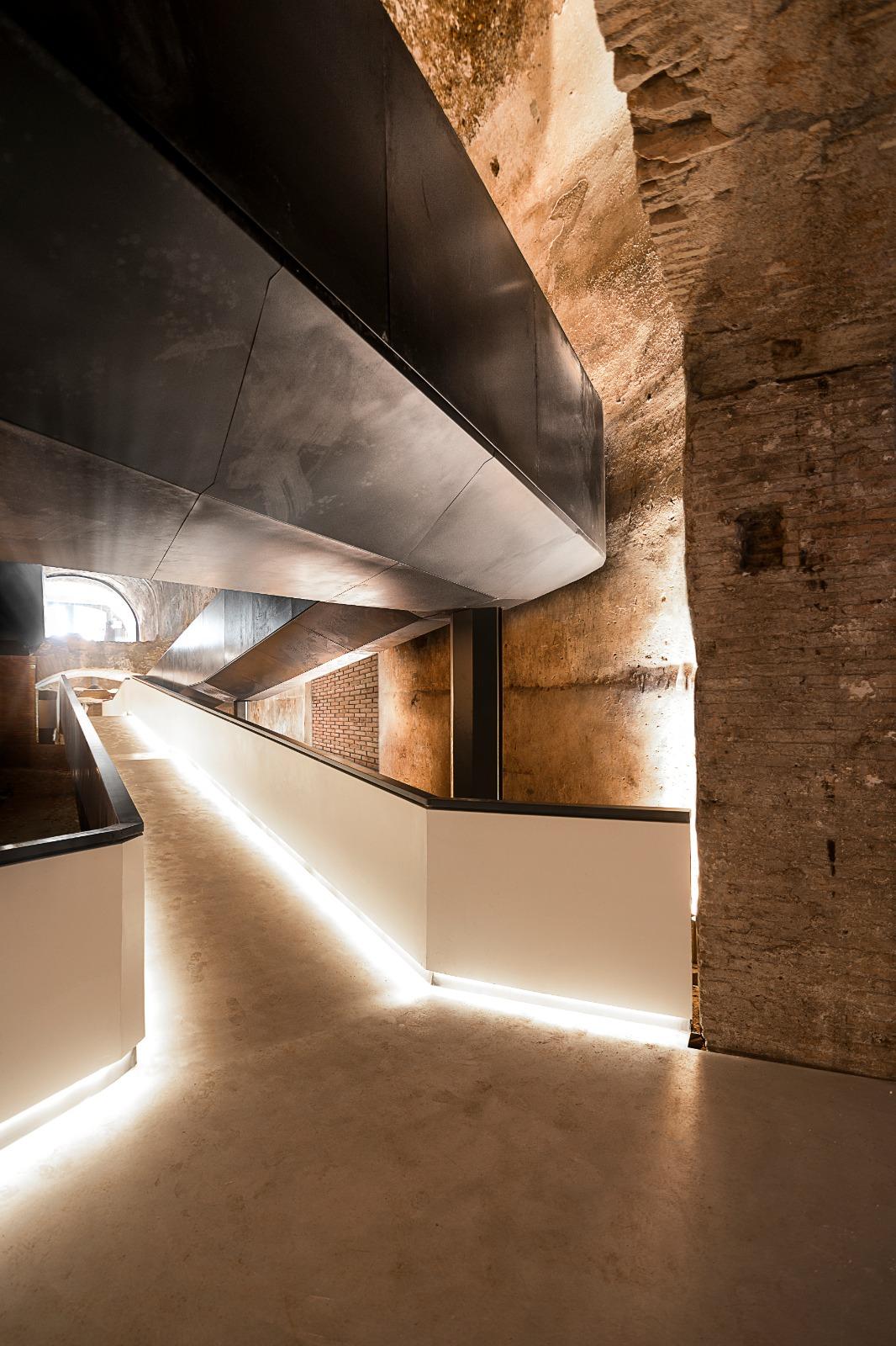 Nuovo ingresso Domus Aurea, Roma. Stefano Boeri Architetti. Crediti:  ph. Lorenzo Masotto