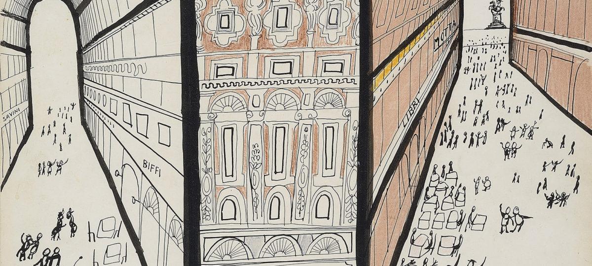 In Triennale a Milano apre la mostra su Saul Steinberg